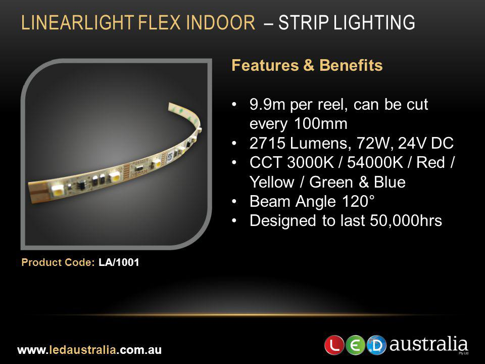 LINEARLIGHT FLEX INDOOR – STRIP LIGHTING