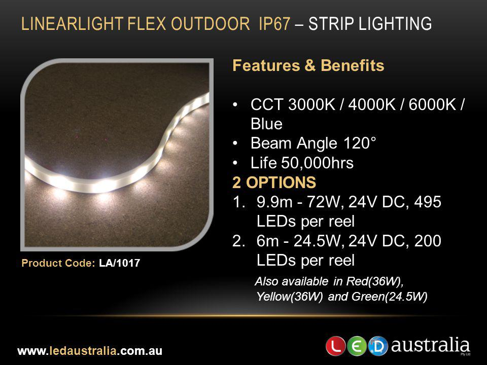 LINEARLIGHT FLEX OUTDOOR IP67 – STRIP LIGHTING