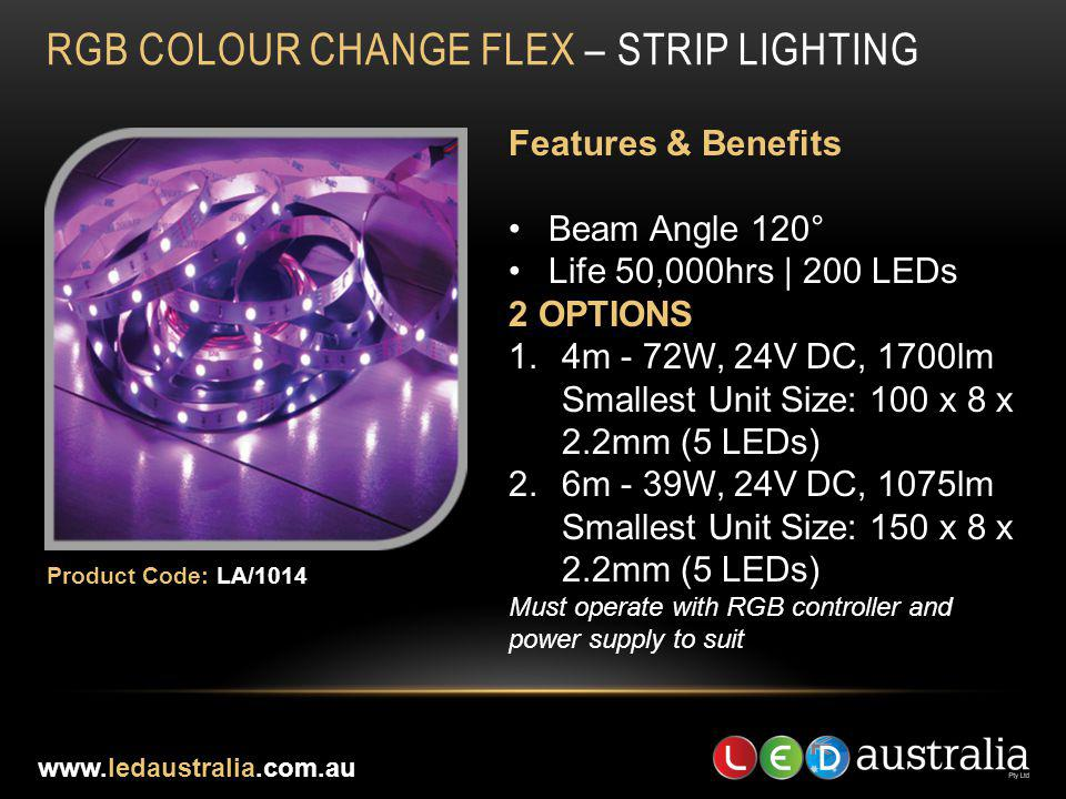 RGB COLOUR CHANGE FLEX – STRIP LIGHTING