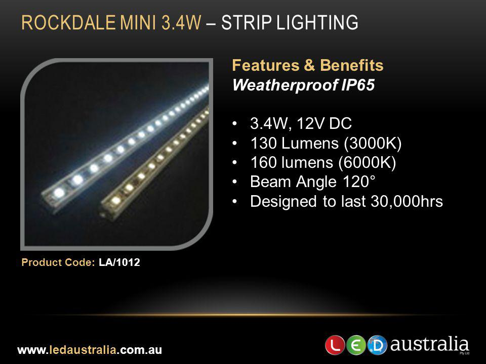 ROCKDALE MINI 3.4W – STRIP LIGHTING