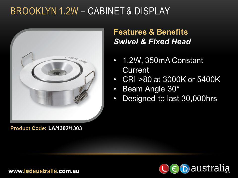 BROOKLYN 1.2W – CABINET & DISPLAY
