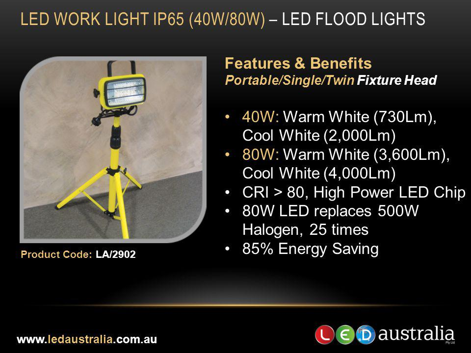 LED work light IP65 (40W/80W) – led flood lights