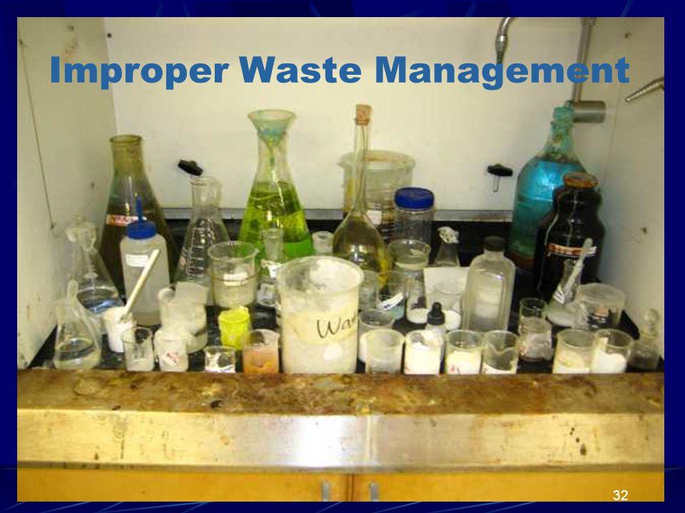 Improper Waste Management