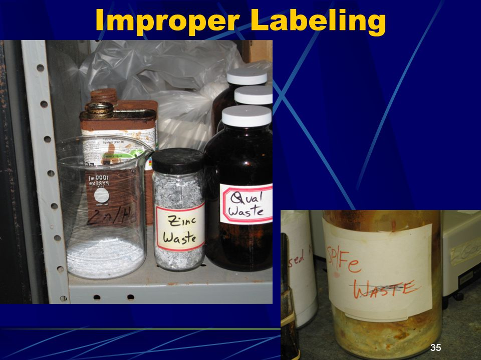 Improper Labeling