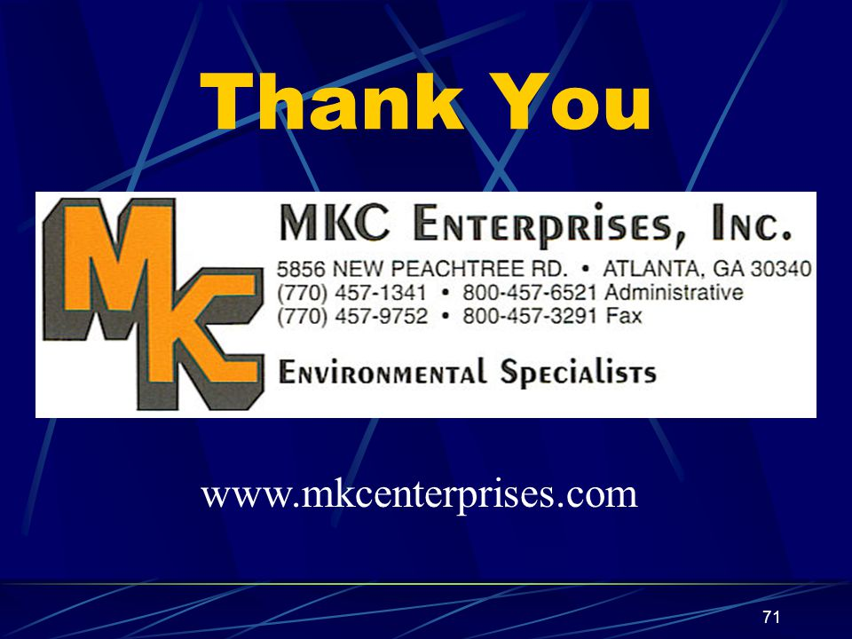 Thank You www.mkcenterprises.com