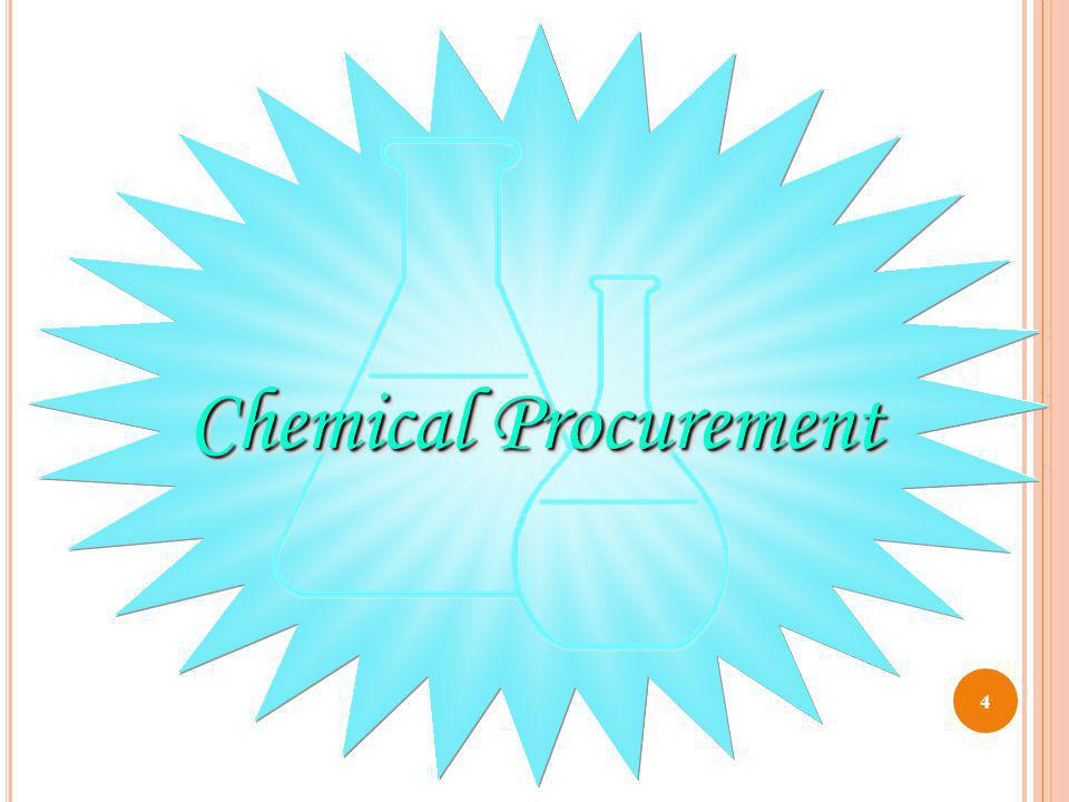 Chemical Procurement