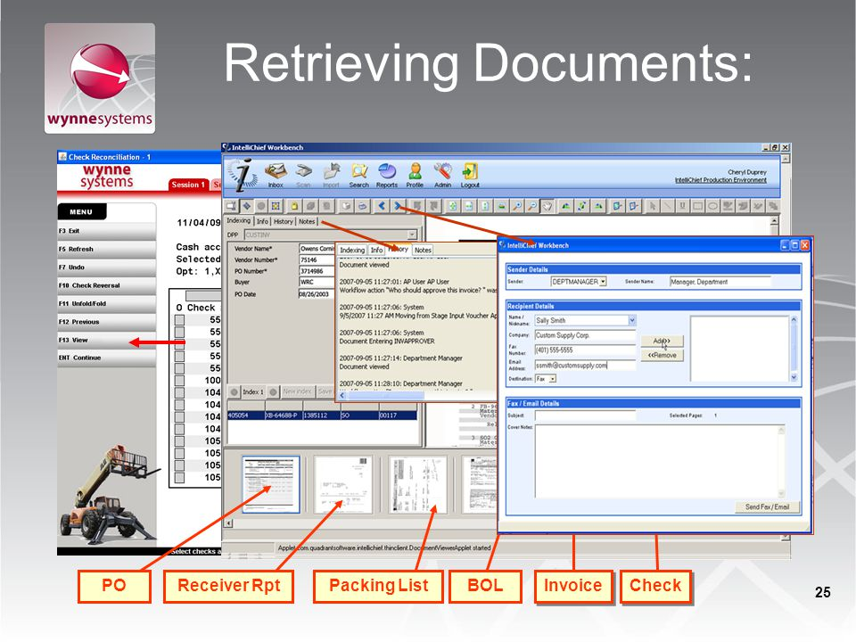 Retrieving Documents: