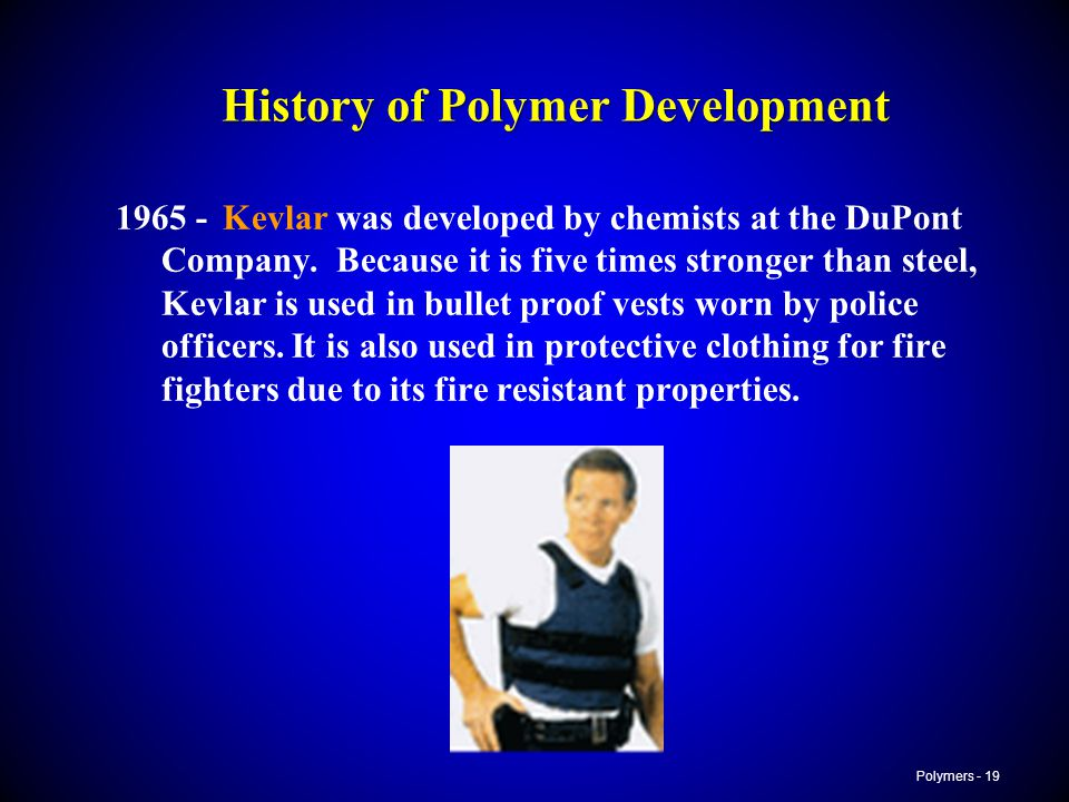 History of Polymer Development