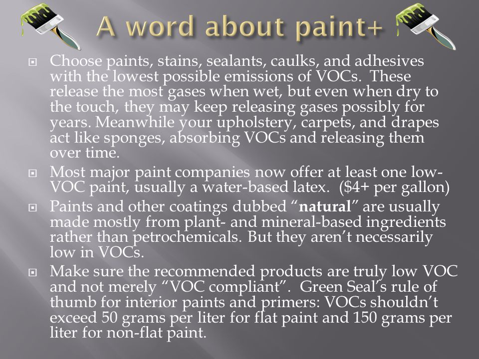 A word about paint+