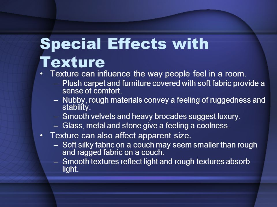 Special Effects with Texture