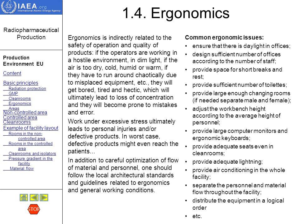 1.4. Ergonomics