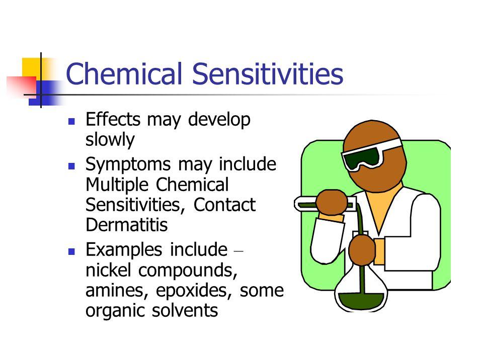 Chemical Sensitivities