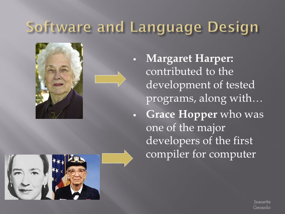 Software and Language Design