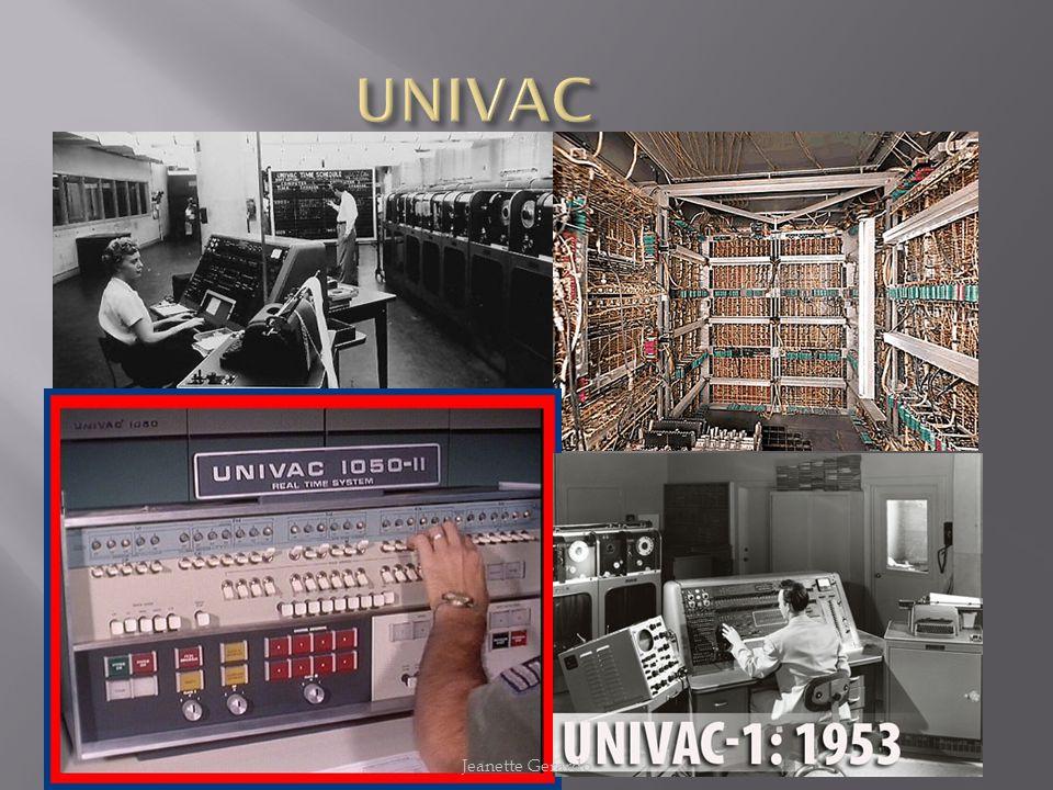 UNIVAC Jeanette Gerardo