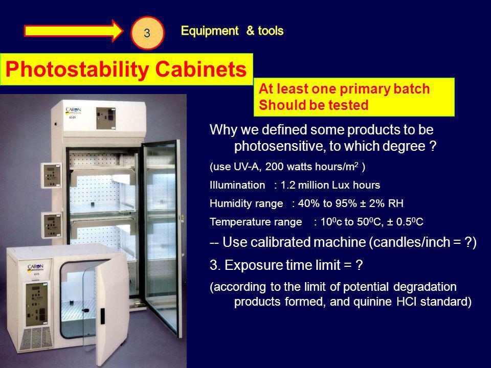 Photostability Cabinets