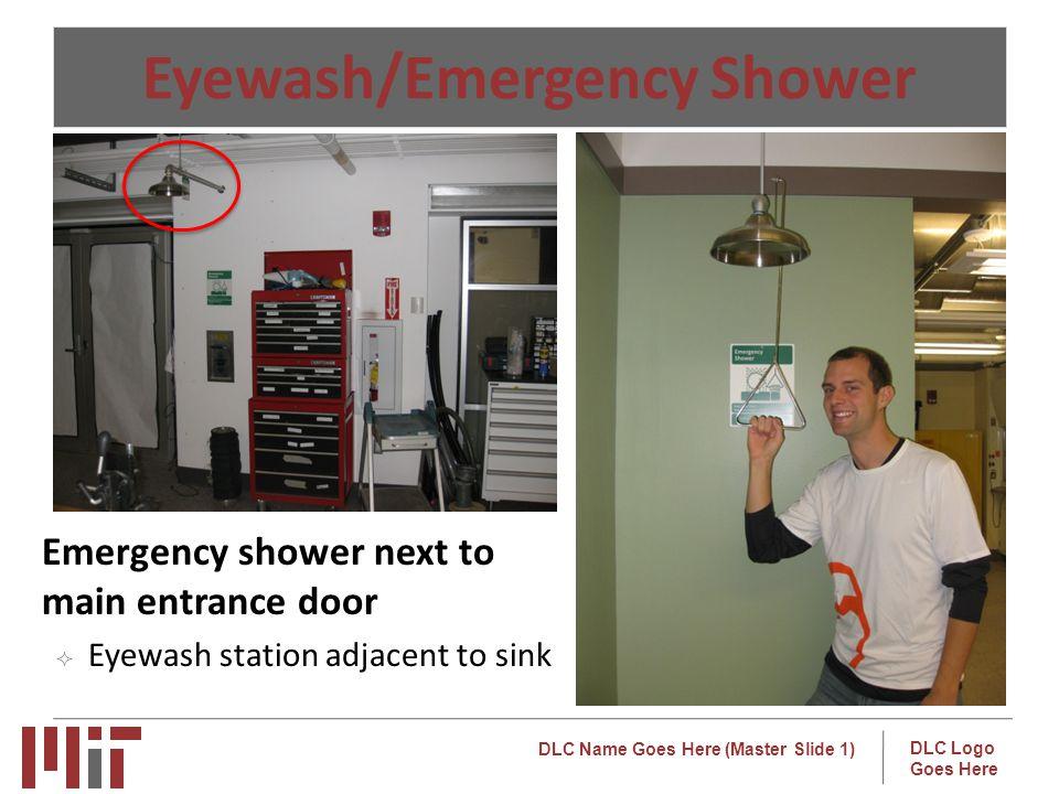 Eyewash/Emergency Shower