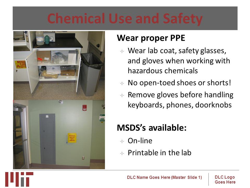 Chemical Use and Safety
