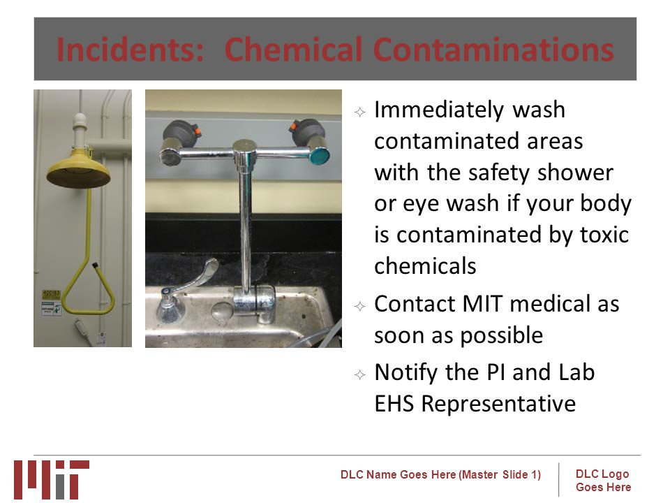 Incidents: Chemical Contaminations
