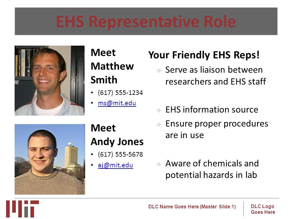 EHS Representative Role