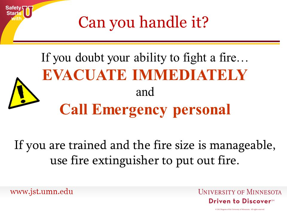 Call Emergency personal