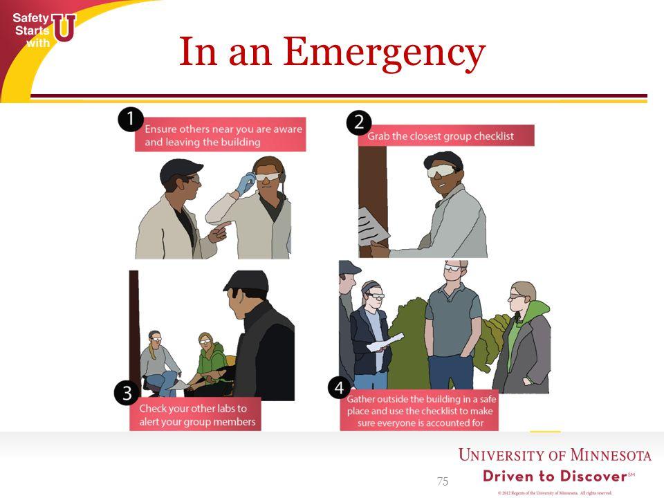 In an Emergency