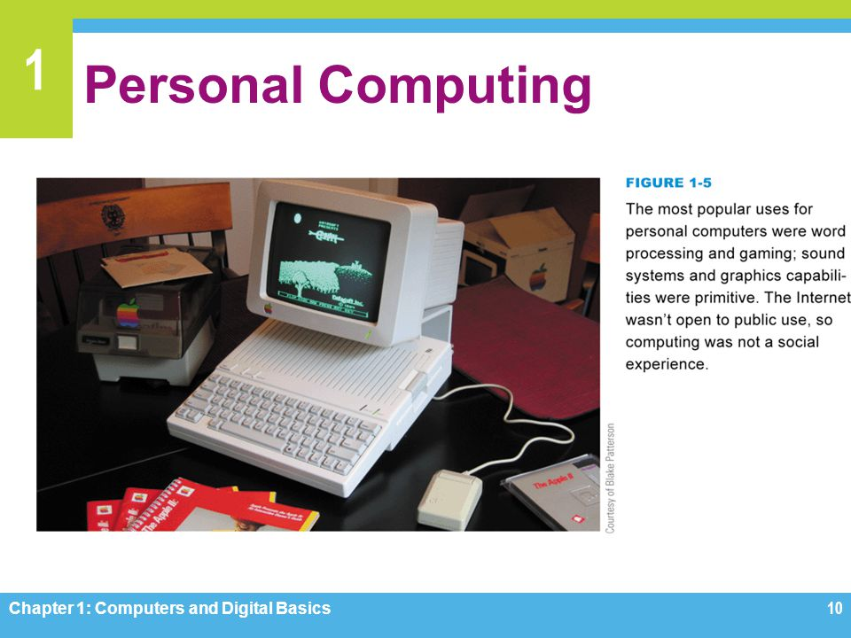 Personal Computing Figure 1-5 Chapter 1: Computers and Digital Basics