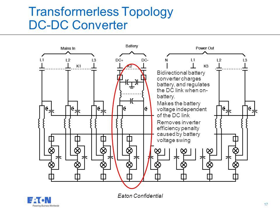 Transformerless Topology DC-DC Converter