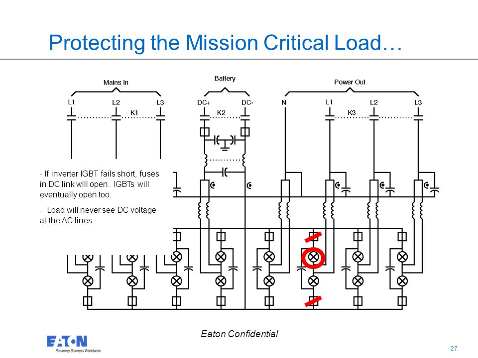 Protecting the Mission Critical Load…