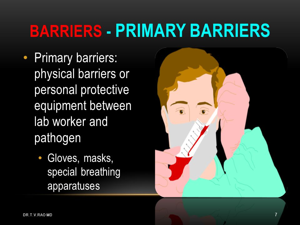 Barriers - Primary barriers