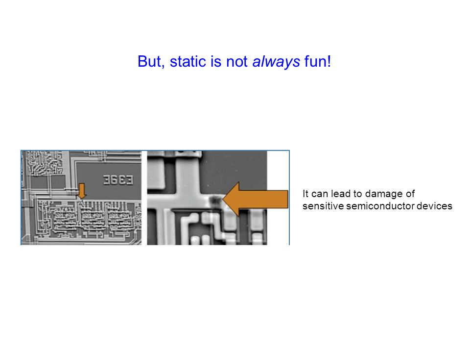But, static is not always fun!