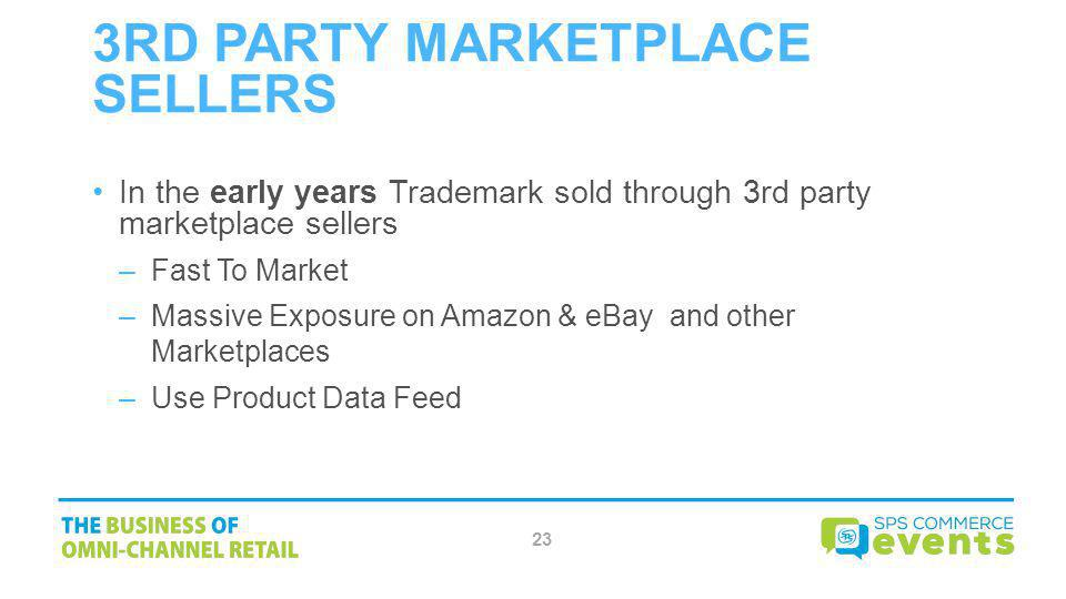 3rd Party Marketplace Sellers