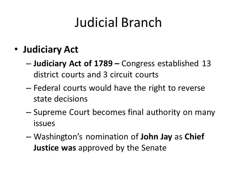 Judicial Branch Judiciary Act