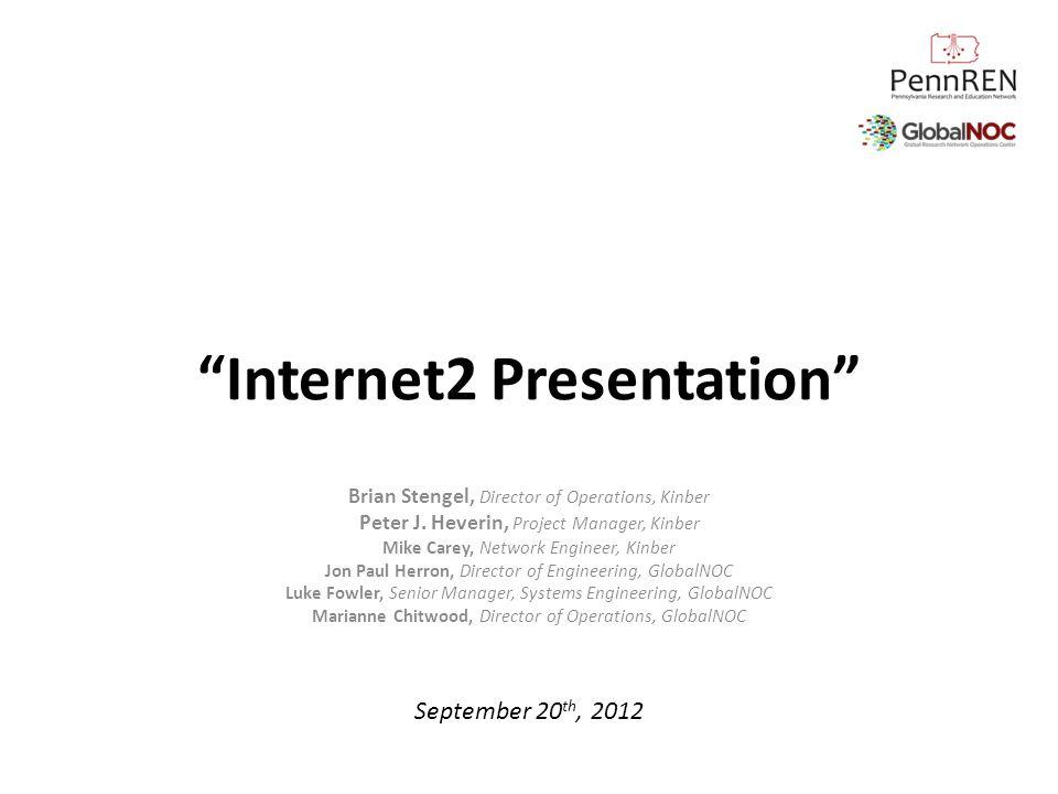 Internet2 Presentation