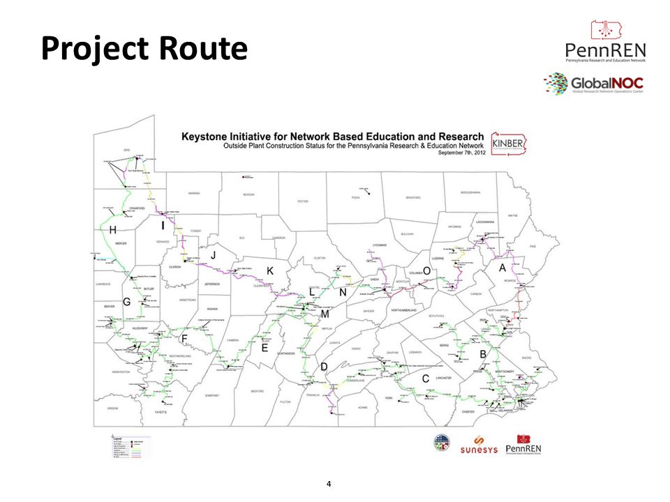 Project Route Peter talk about route 4