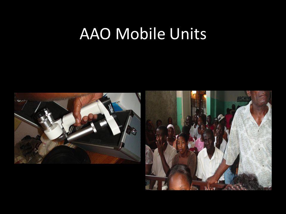 AAO Mobile Units
