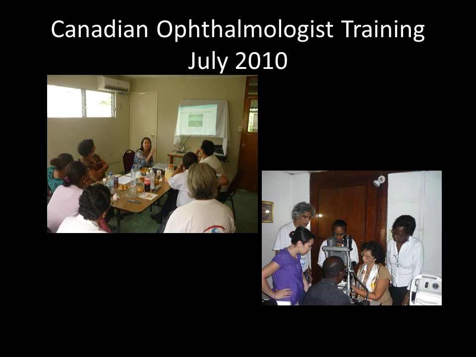 Canadian Ophthalmologist Training July 2010