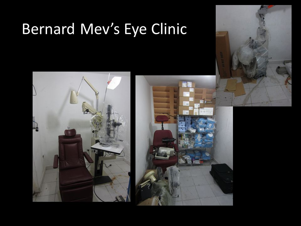 Bernard Mev's Eye Clinic