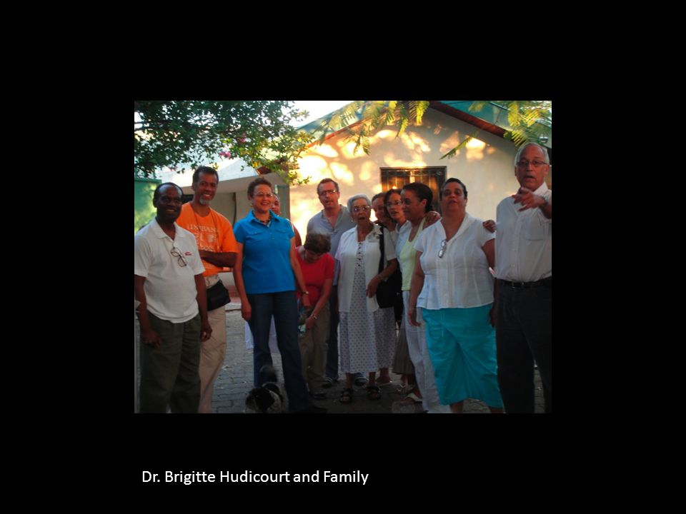 Dr. Brigitte Hudicourt and Family