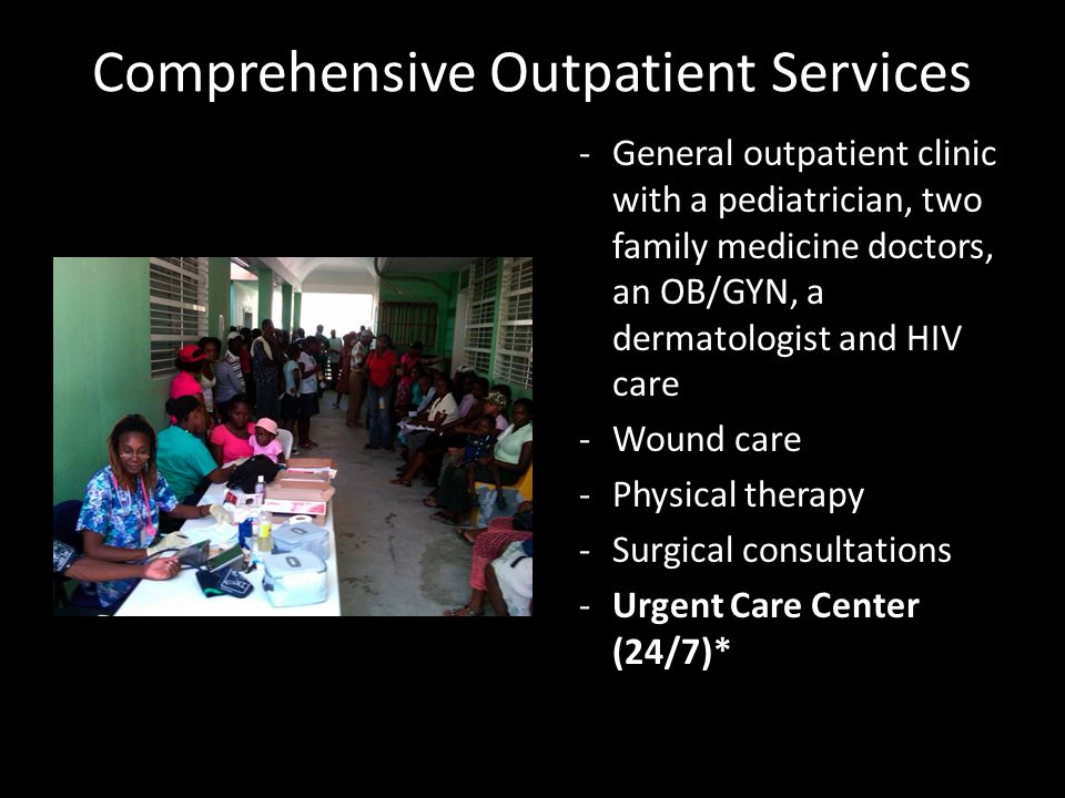 Comprehensive Outpatient Services
