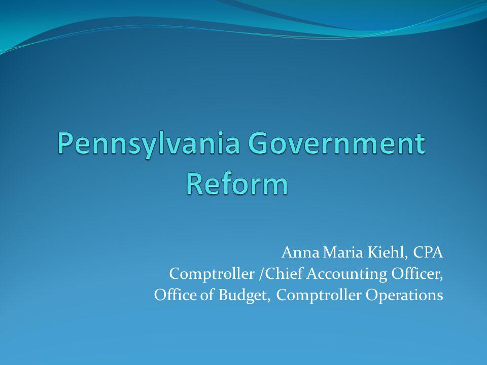 Pennsylvania Government Reform