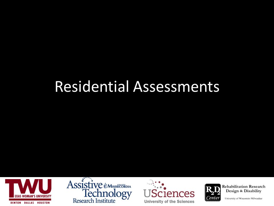 Residential Assessments