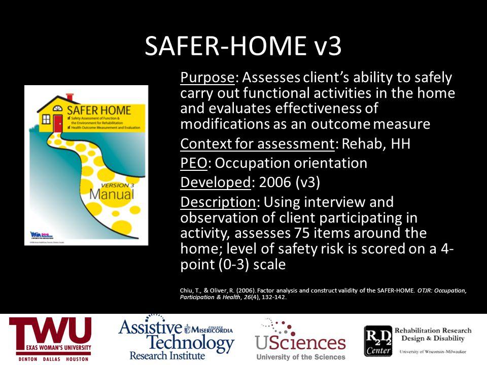 SAFER-HOME v3