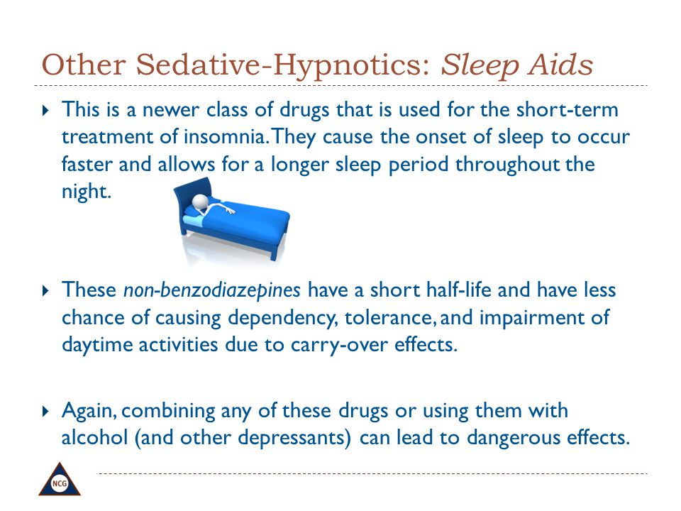 Other Sedative-Hypnotics: Sleep Aids