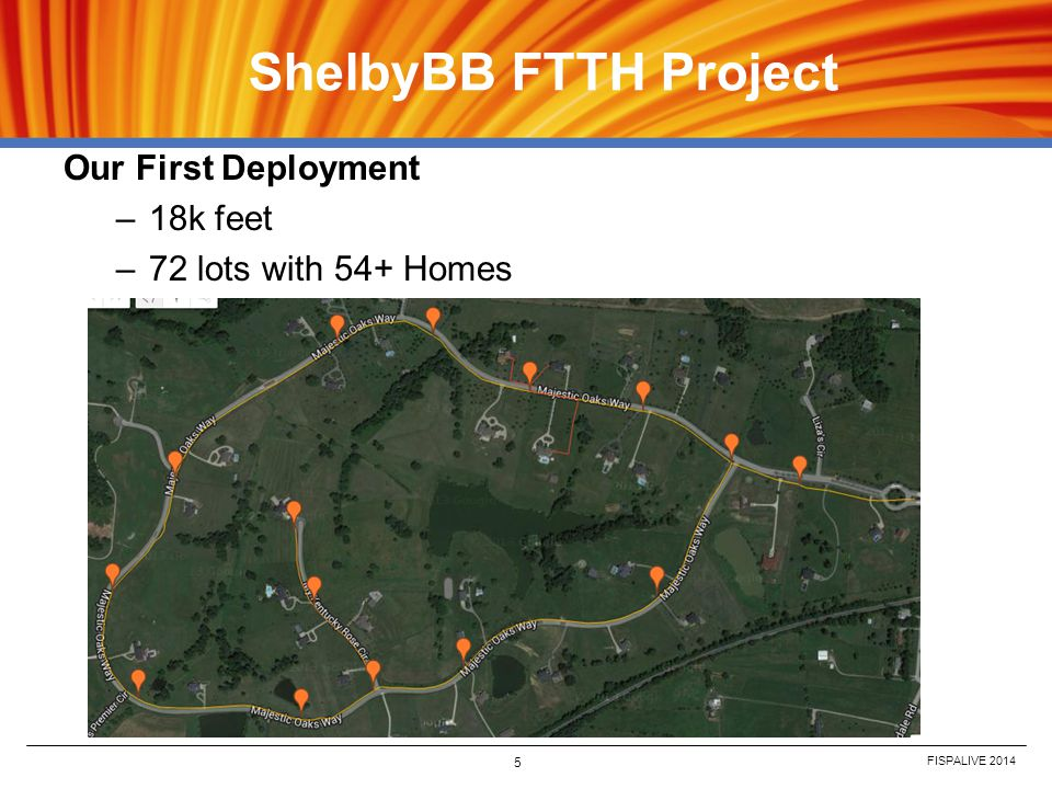 ShelbyBB FTTH Project Our First Deployment 18k feet