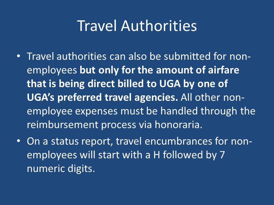 Travel Authorities