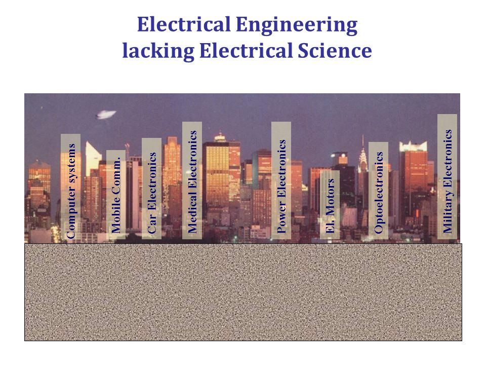 Electrical Engineering lacking Electrical Science