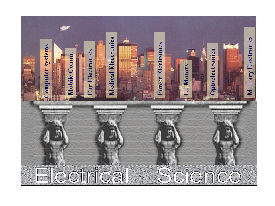 Electrical Science Military Electronics Medical Electronics