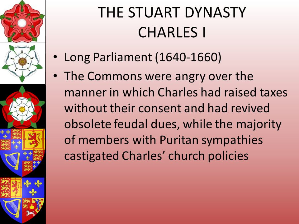 THE STUART DYNASTY CHARLES I