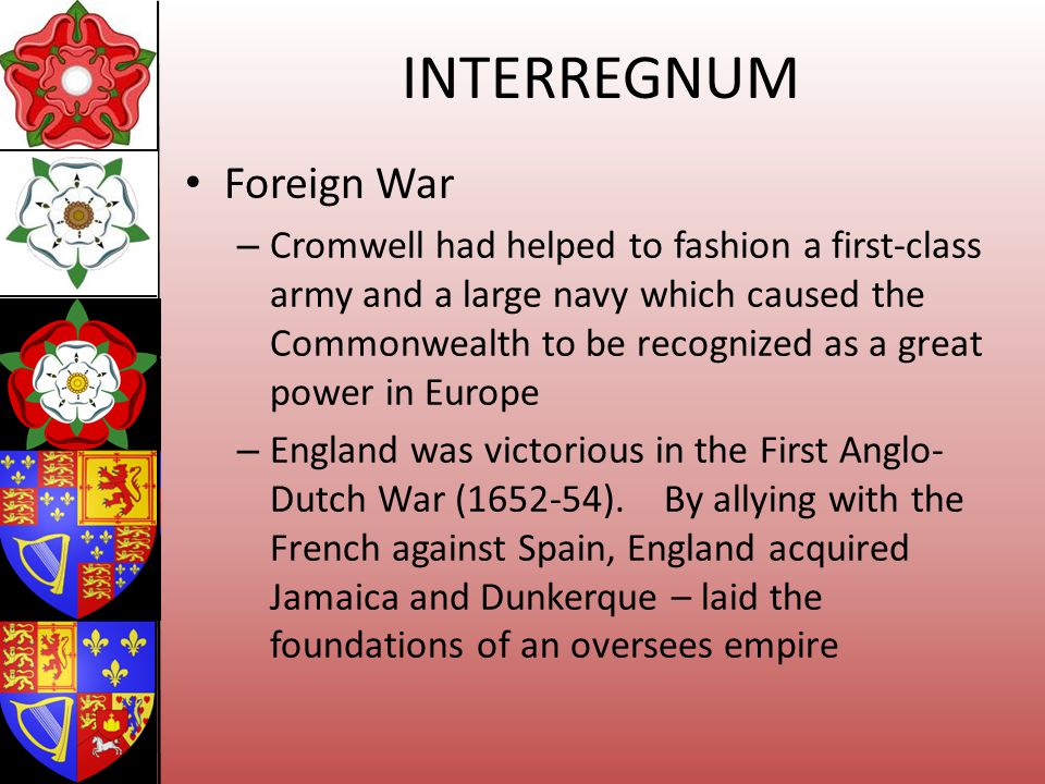 INTERREGNUM Foreign War