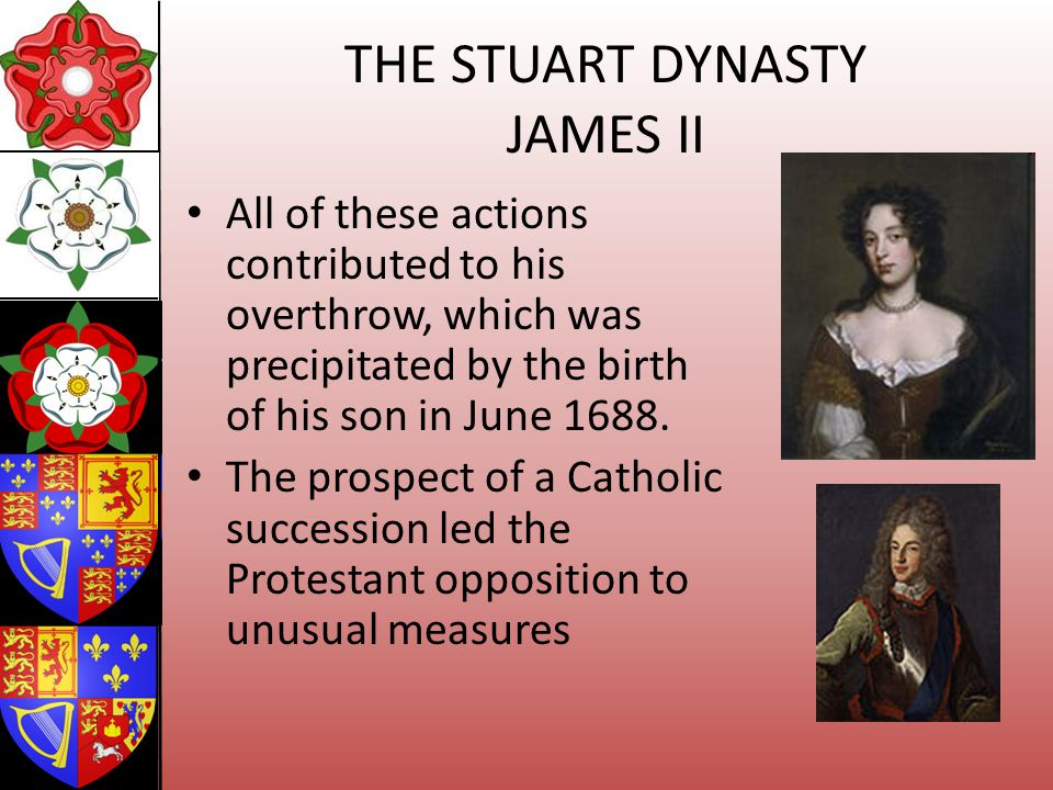 THE STUART DYNASTY JAMES II